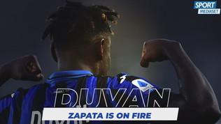 Juve-Atalanta: Zapata man of fire!