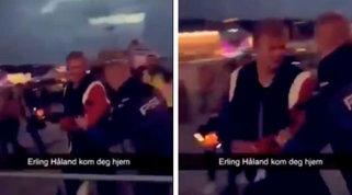 Haaland, vacanze movimentate: cacciato da un locale in Norvegia