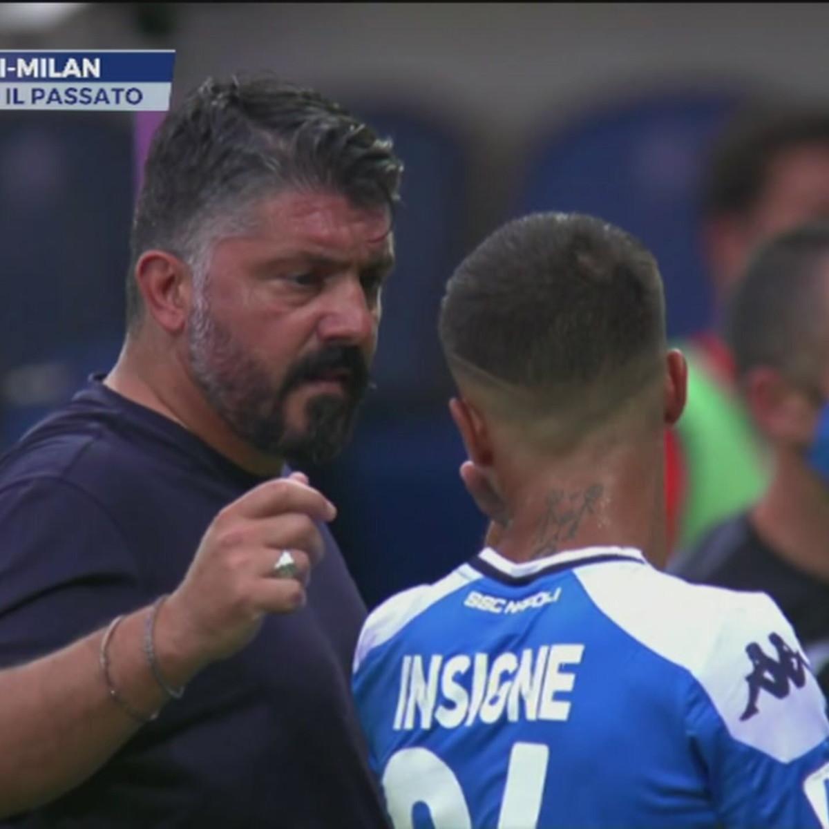 Napoli-Milan: Gattuso contro il passato