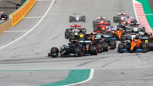 GP Stiria, doppietta Mercedes