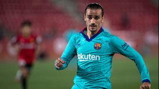 Barça, si ferma Griezmann: a rischio per la sfida con il Napoli