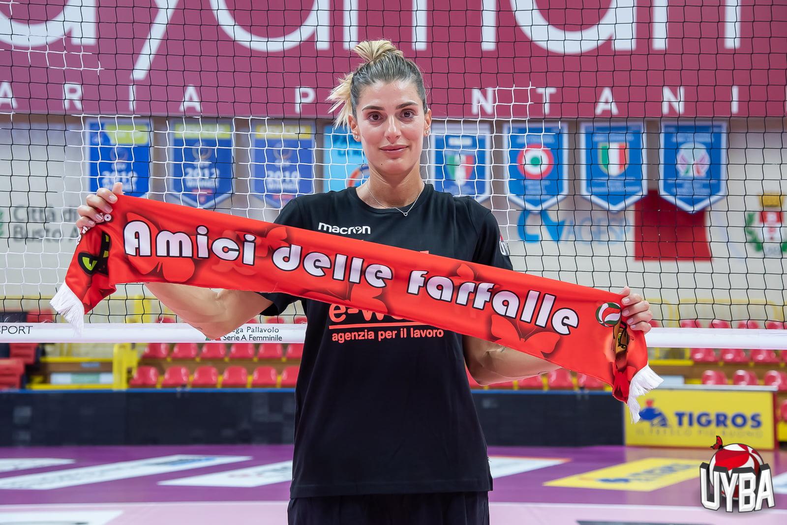 Francesca Piccinini, alla seconda stagione con Busto Arsizio.