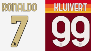 Serie A, verso il font unico per numeri e nomi delle maglie