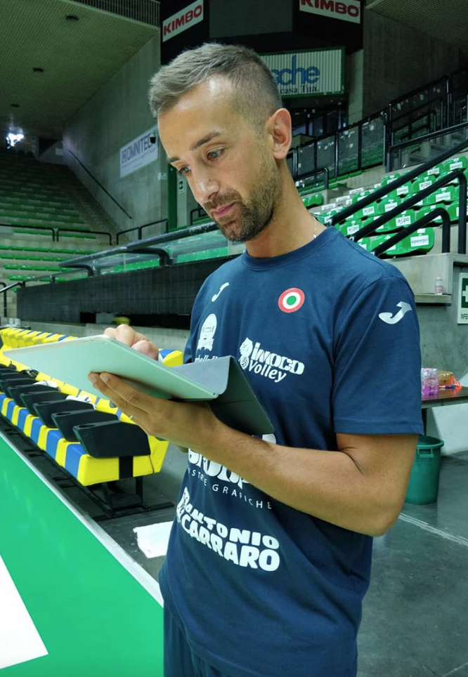 Il coach, Daniele Santarelli.