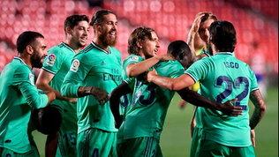 Il Real non si ferma più: passa a Granada e torna a +4 sul Barça