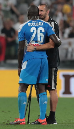 31/8/19 Juve-Napoli 4-3 - subito Sarri contro il suo passato: Juve show per un'ora, poi il Napoli recupera 3 gol ma si arrende per l'errore di Koulibaly