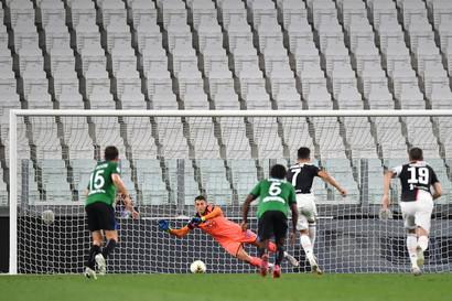11/7/20 Juve-Atalanta 2-2 - Due rigori di CR7 tengono a distanza la banda di Gasperini e di fatto mettono il punto al campionato. Juve a +8 su Inter e Lazio con sei partite da giocare.