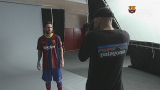 Il Barcellona stile Champions: la nuova maglia