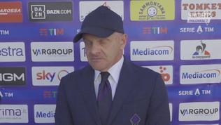 """Iachini: """"Il Lecce è avversario ostico, dovremo essere concentrati"""""""