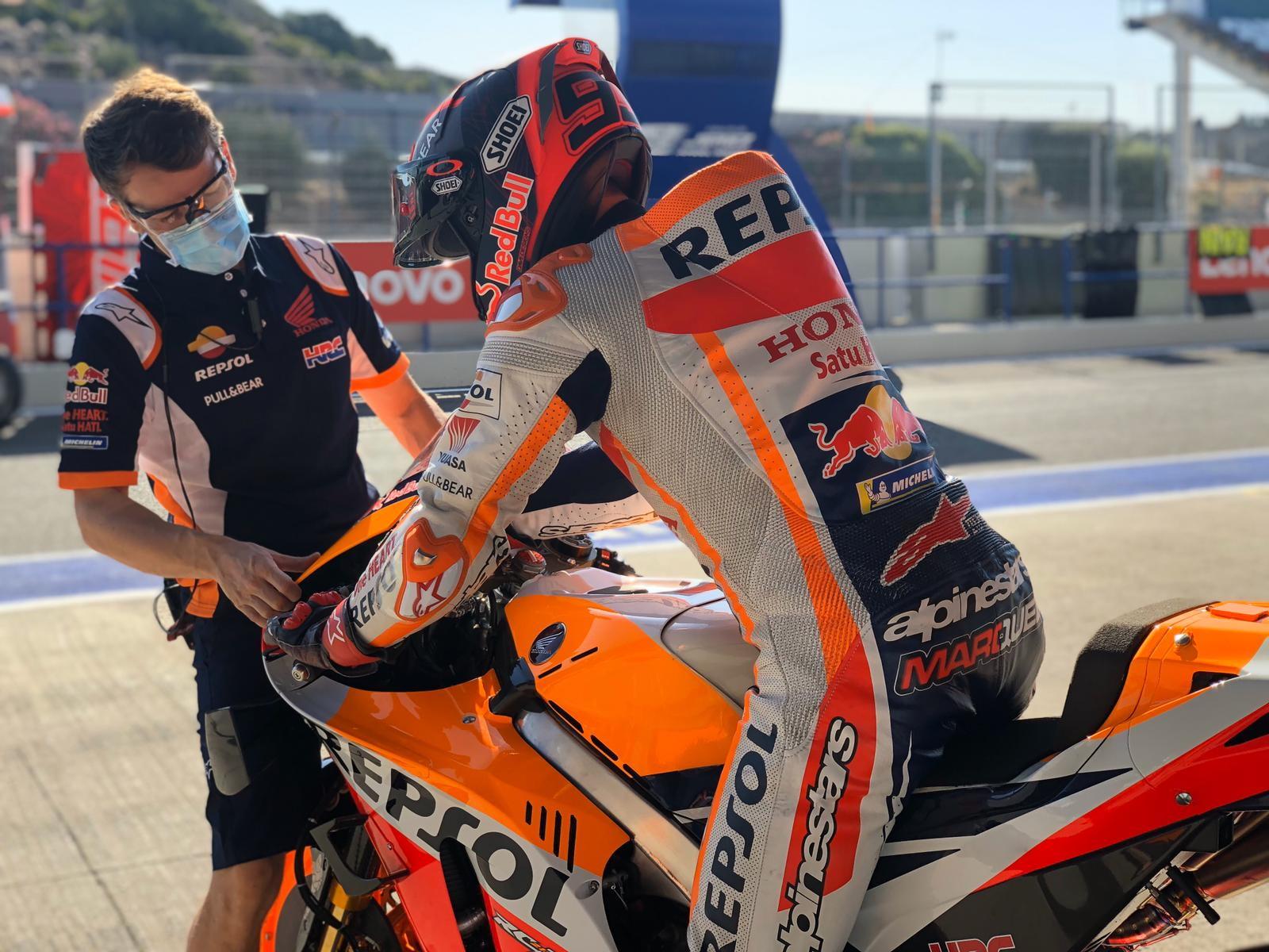 I piloti hanno girato a Jerez per un test in vista del primo weekend della stagione