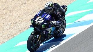 Viñaleschiude davanti a tutti, Marquez è 3°. Attardato Rossi