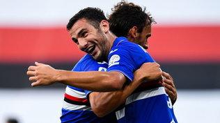 Serie A, la Sampdoria batte il Cagliari, la Fiorentina passa a Lecce