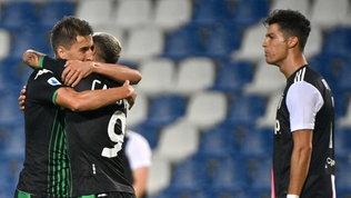 Gol e spettacolo: Sassuolo-Juve è pari
