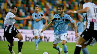 La lazio non passa a Udine e butta via l'occasione di riaprire il campionato