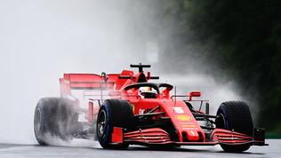 Vettel e la pioggia conquistano le libere 2