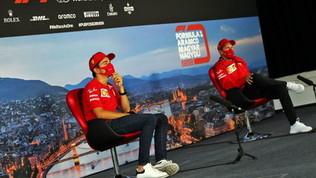 """Leclerc e Vettel positivi: """"Macchina ok, siamo più veloci"""""""