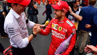Racing Point apre a Vettel, Wolffsi candida come suo manager