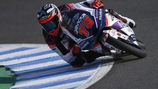 Arenas concede il bis: vittoria in volata a Jerez. Arbolino sul podio