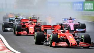 """Vettel: """"Doppiati? Ce lo aspettavamo"""". Leclerc deluso"""