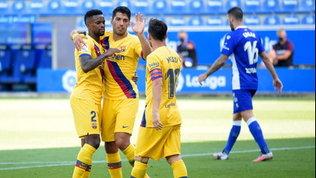 Il Real chiude con un pari, ilBarça avvisa il Napolicon la manita