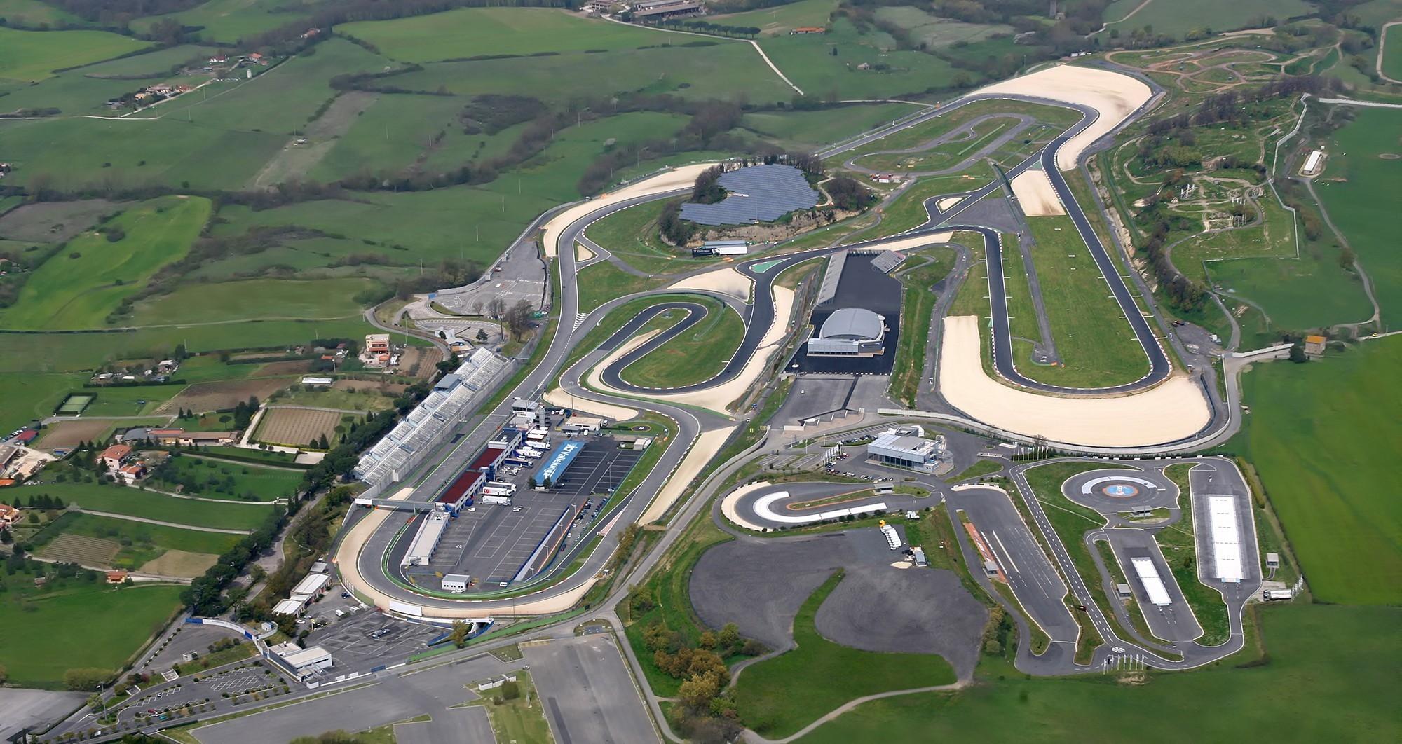 L'autodromo Pietro Taruffi di Vallelunga.