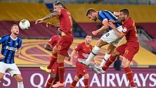 Lukakuriprende la Roma: l'Inter vola in Champions