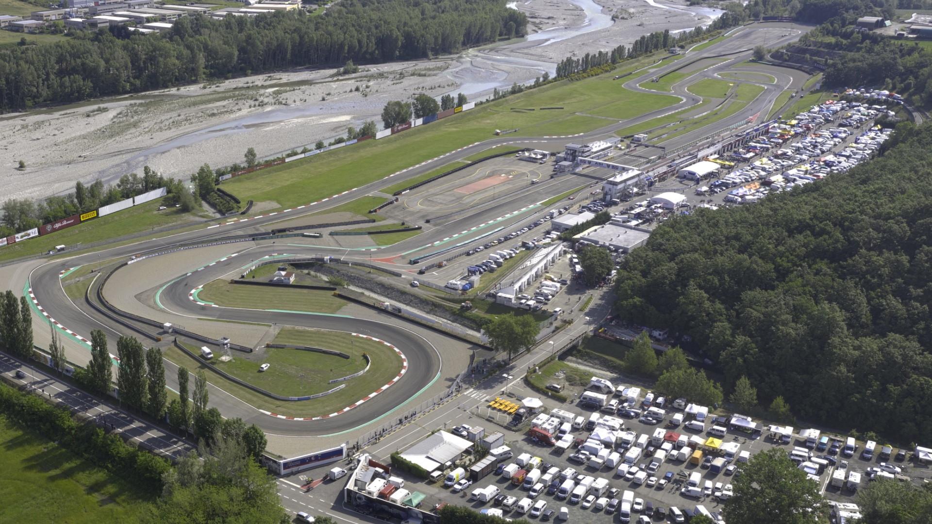 L'autodromo Riccardo Paletti di Varano, il secondo circuito in Umbria dopo quello di Magione.