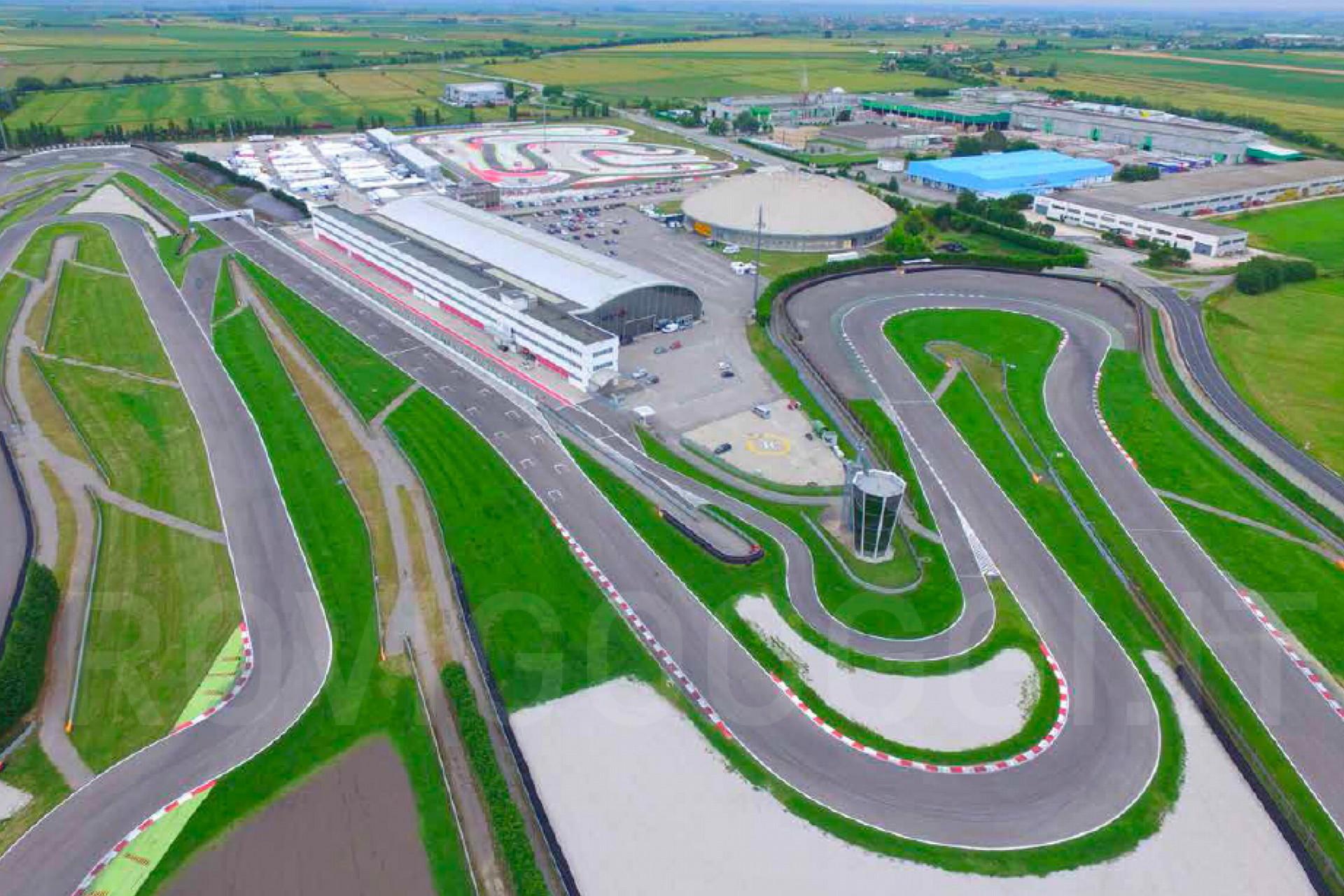 L'ultima tappa della smart EQ fortwo e-cup 2020: l'Adria International Raceway. Nato nel 2002, lungo 2702 metri.