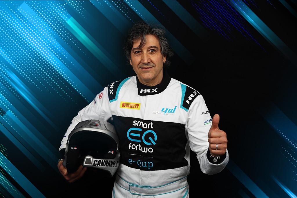 Anche nel 2020 F3 Motors conferma a bordo della sua smart EQ fortwo Antonino Cannavò, laureatosi campione del trofeo Gentleman la passata stagione.