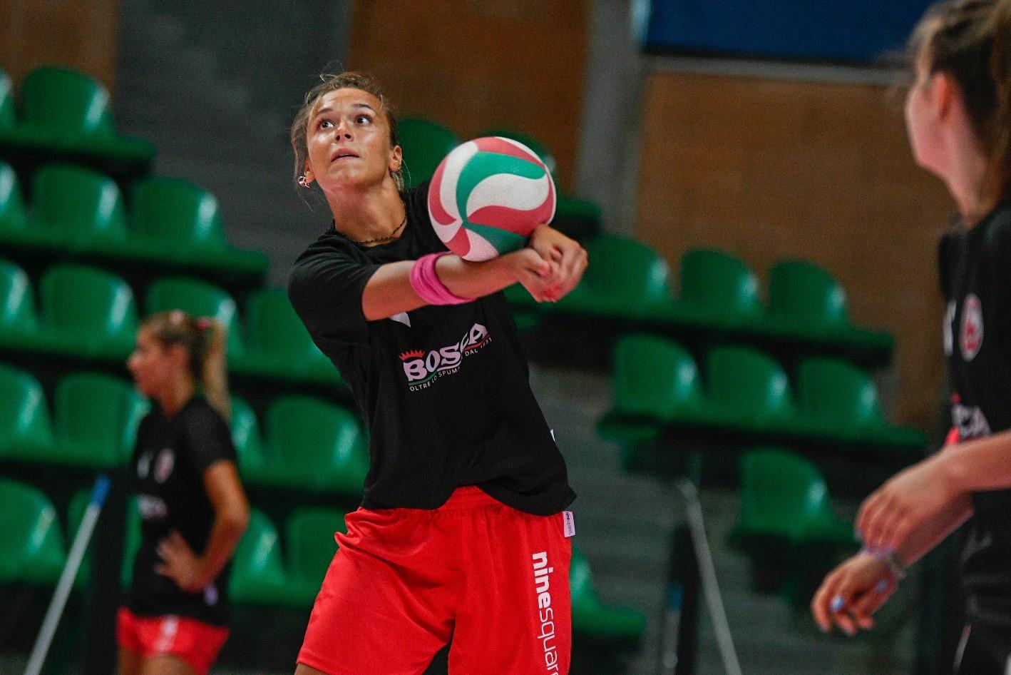 Giorgia Zannoni, seconda stagione a Cuneo per lei.