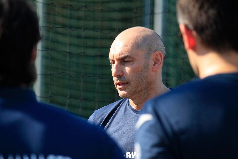Il nuovo allenatore, Carlo Parisi.