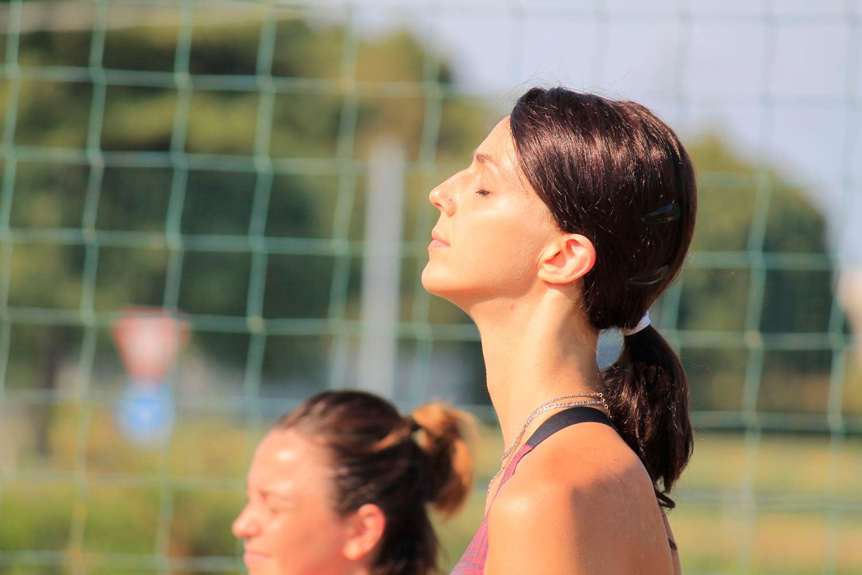 Concentrazione per Federica Stufi, che ha prolungato il suo contratto con la VBC.