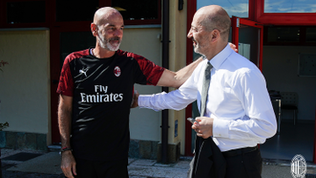"""Gazidis: """"Pioli è la figura migliore per un Milan vincente"""""""