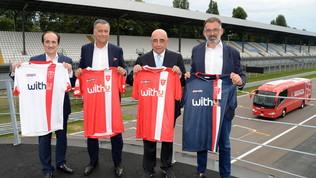 Monza, presentate le nuove maglie