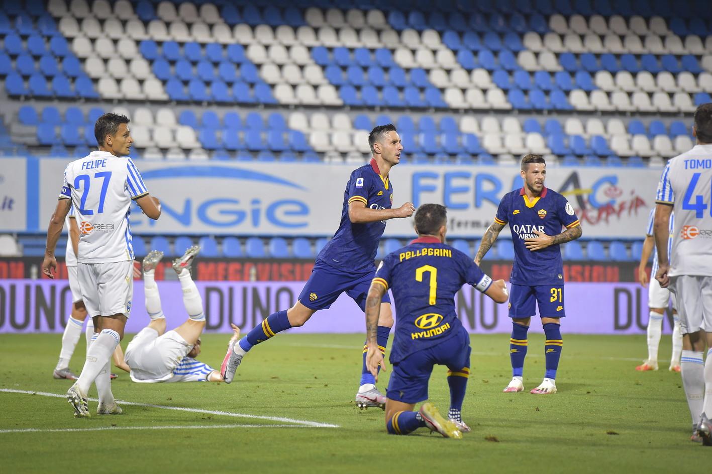 I giallorossi di Fonseca vincono 6-1