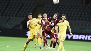 Il Verona spaventa il Torino, Zaza scaccia la grande paura