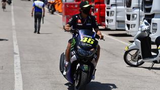 """Rossi: """"Bello riavere Marc in pista. Noi cercheremo di cambiare le cose"""""""
