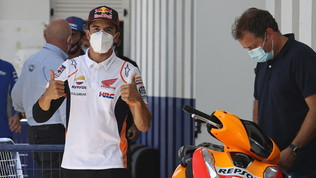 """Campinoti: """"Marquez è un rischio"""". Lorenzo lo esalta"""