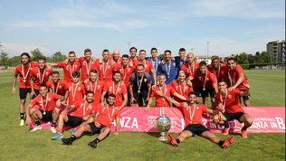 Lega Pro: Monza premiato da Galliani per la vittoria del campionato