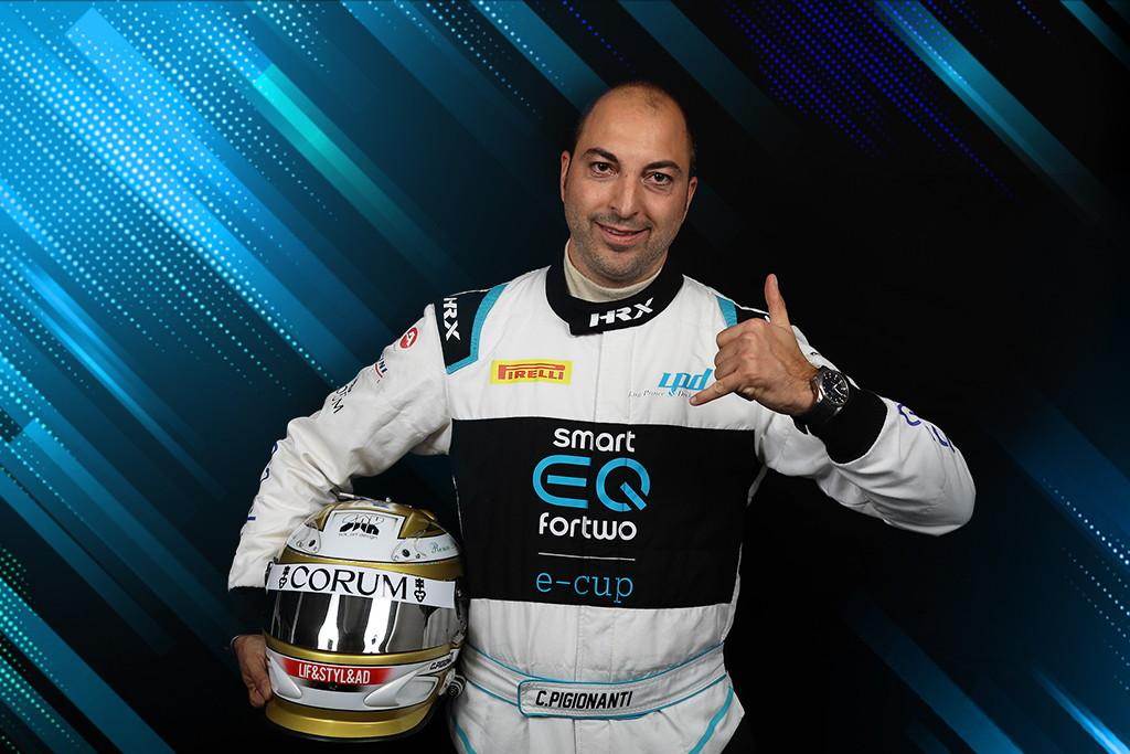 City Car, la prima concessionaria smart nata in Toscana, ha scelto Christian Pigionanti per il suo debutto nel motorsport elettrico.