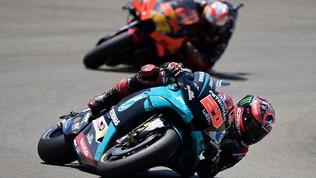 """MotoGP, Quartararo: """"Sorpreso per la pole"""". Vinalese Bagnaia soddisfatti"""