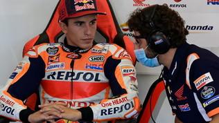 """Marquez: """"Ci ho provato, ma non sentivo più il braccio"""""""