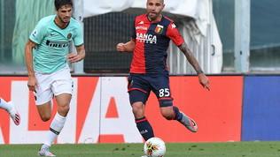 Genoa-Inter, le foto del match