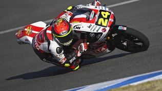 Jerez Moto3, Suzuki vince... nel nome di Simoncelli
