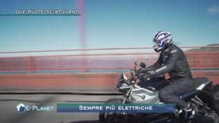 L'immatricolazione di moto elettriche aumenta