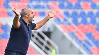 """Barrow""""condanna"""" il Lecce: vince il Bologna, Liverani a un passo dalla B"""