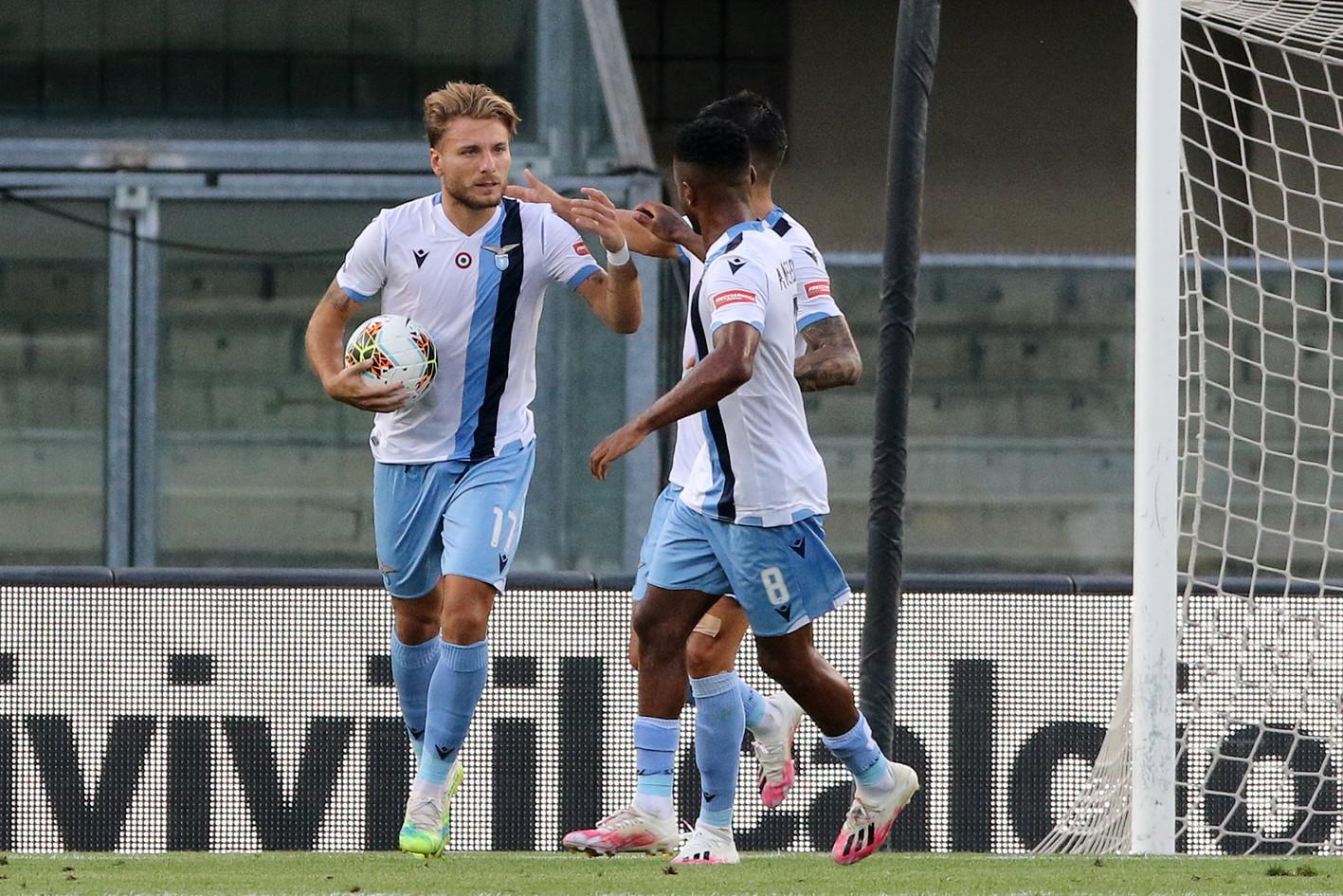Le migliori immagini di Verona-Lazio 1-3.<br /><br />