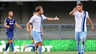 La Lazio aggancia l'Atalanta al 3° posto, Immobile prende Lewa