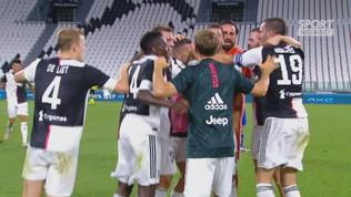 La Juve si prende il nono scudetto consecutivo: è festa all'Allianz