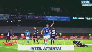 Inter-Napoli, per i nerazzurri pericolo Fabian Ruiz